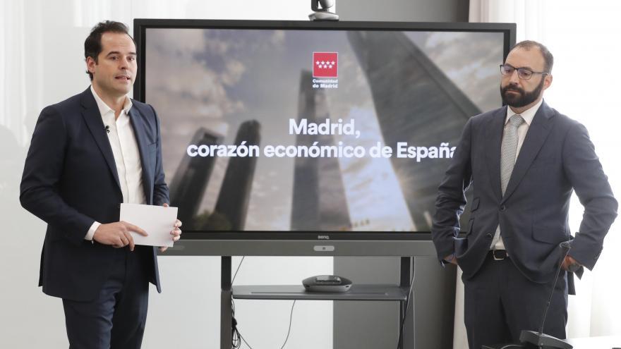 Aguado presenta el balance de la Contabilidad Regional Trimestral y del cierre de 2019