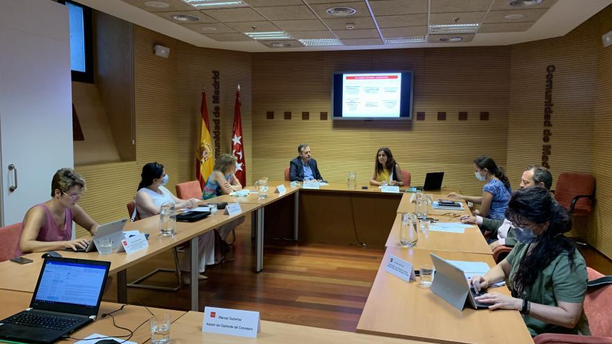 Alberto Reyero durante la presentación de la nueva Ley de Servicios Sociales