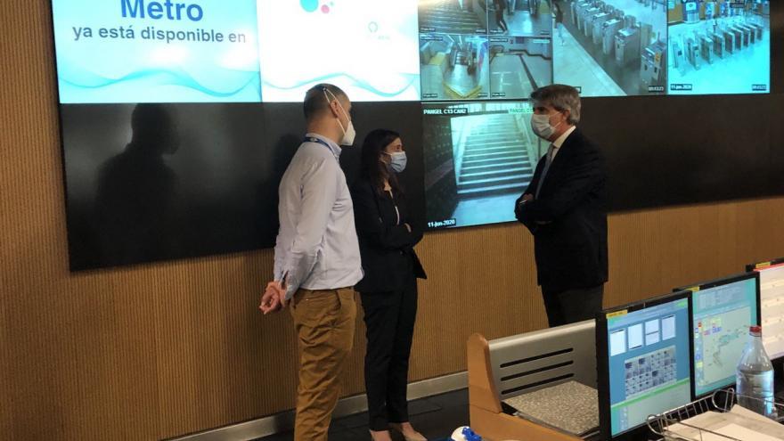 Ángel Garrido durante la presentación de las nuevas funciones del asistente virtual de Google