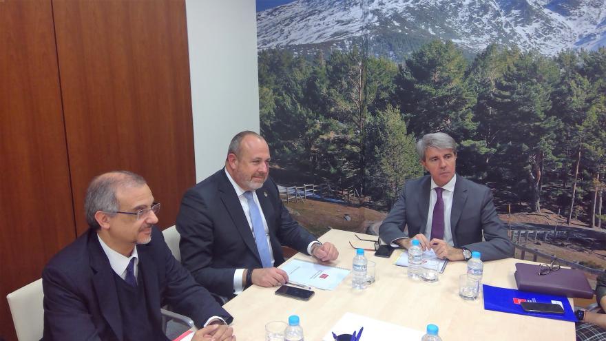 Ángel Garrido se ha reunido con el vicepresidente primero del Cabildo