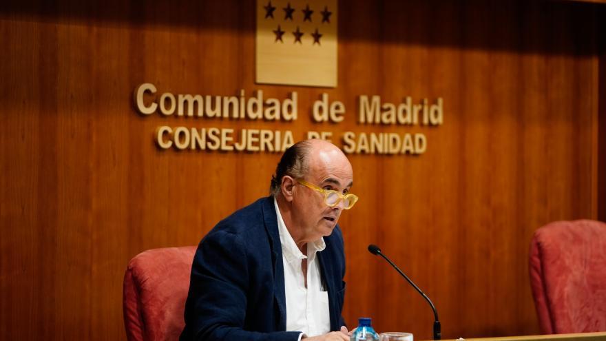 Antonio Zapatero evalúa la situación epidemiológica y asistencial de Madrid