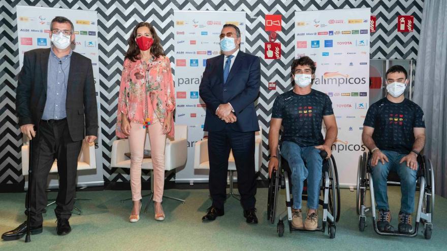 Carballedo presentación paralímpicos