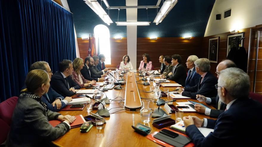 Consejo de Gobierno celebrado en Pozuelo de Alarcón