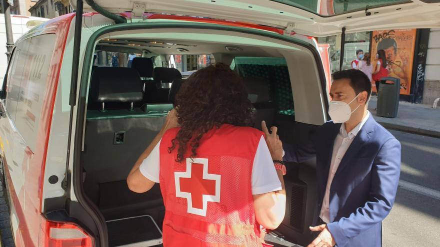 Coche Cruz Roja
