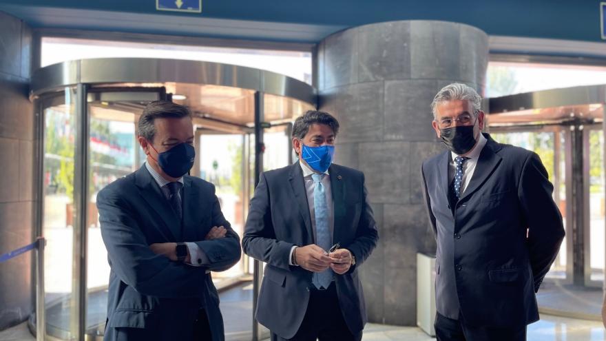 Consejero llegada al congreso español ITS