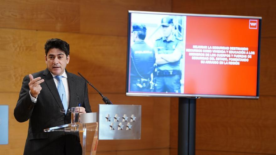 David Pérez tras Consejo de Gobierno
