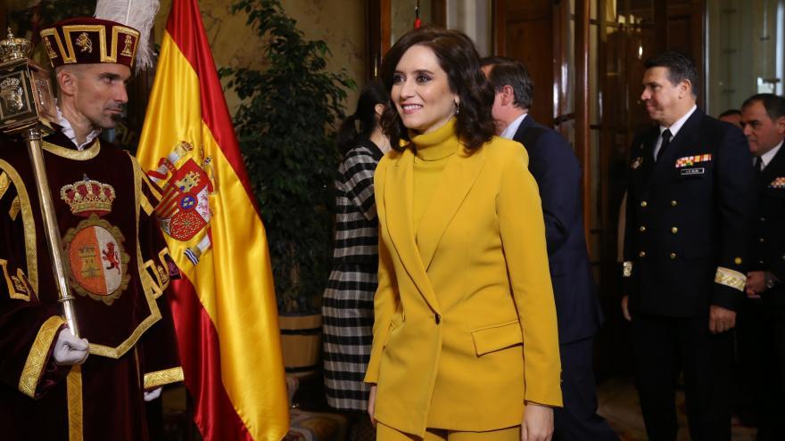 Díaz Ayuso en el Aniversario de la Constitución en el Congreso de los Diputados