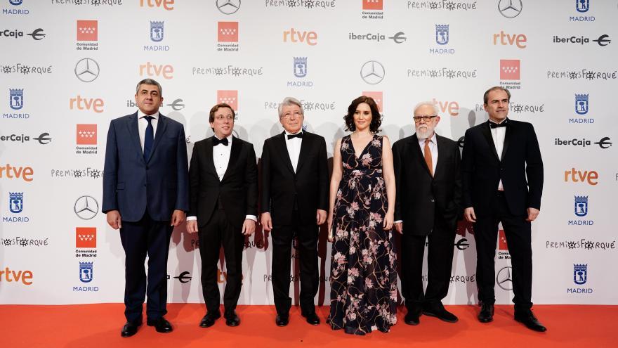Díaz Ayuso, con el cine y la cultura marca España en los XXV Premios José María Forqué 1