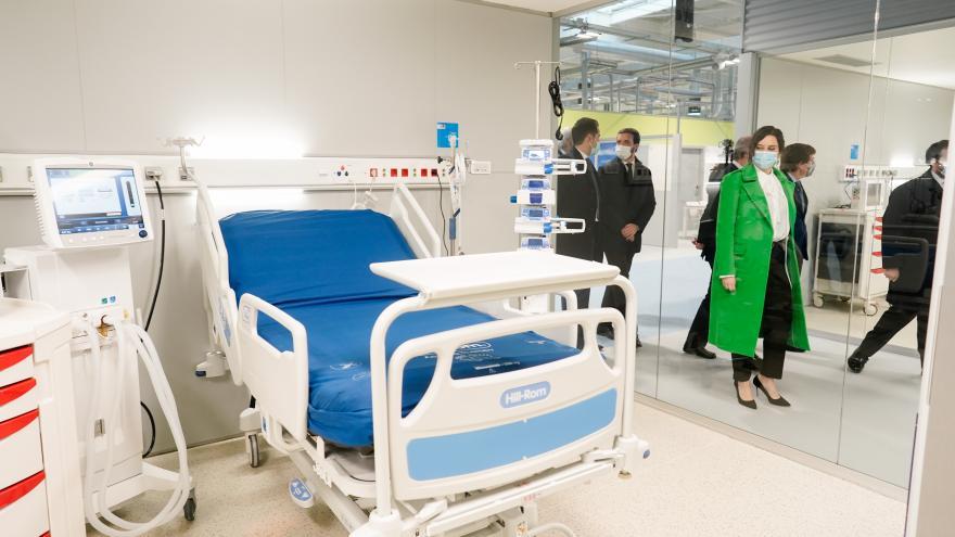Díaz Ayuso inaugura el Hospital Enfermera Isabel Zendal
