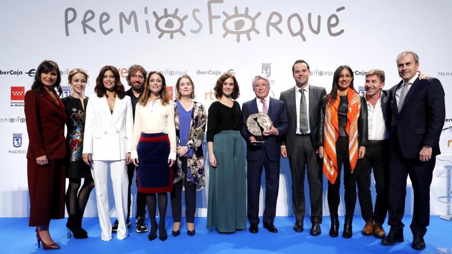 Diaz ayuso Foto de familia Premios Forqué