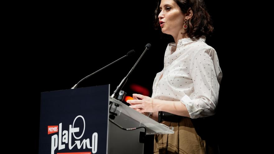 Díaz Ayuso Premios Platino