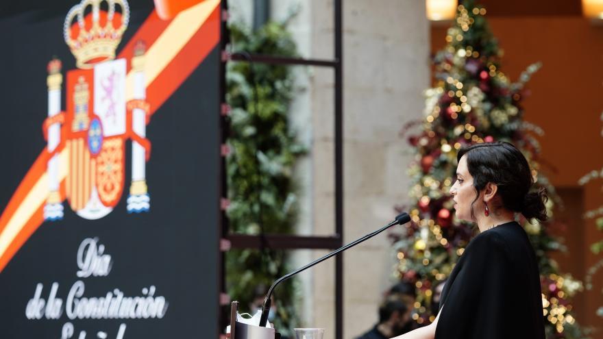 Díaz Ayuso reivindica la Constitución