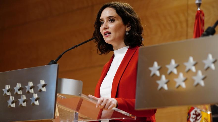 Díaz Ayuso en Rueda de Prensa del Consejo de Gobierno
