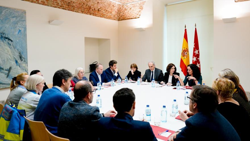 Reunión con el Comité de Expertos del Nuevo Coronavirus