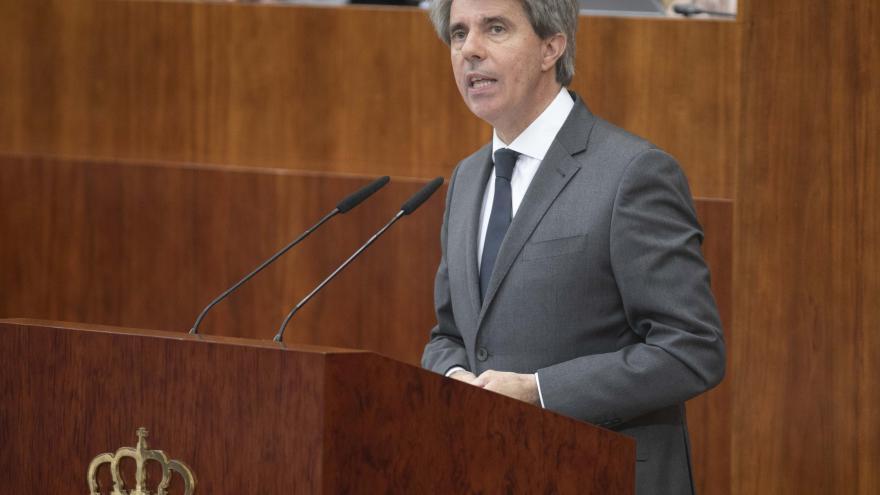 Ángel Garrido, presidente de la Comunidad de Madrid