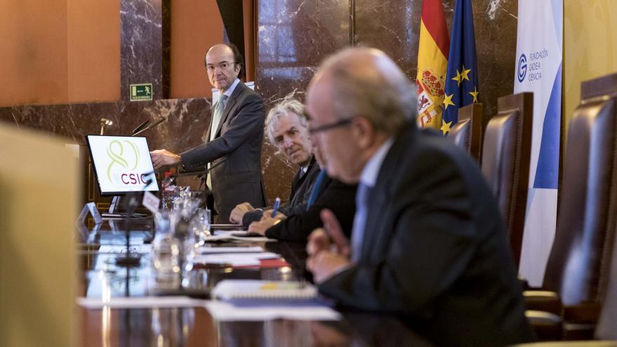 Eduardo Sicilia durante el III Fórum de la Fundación Gadea Ciencia