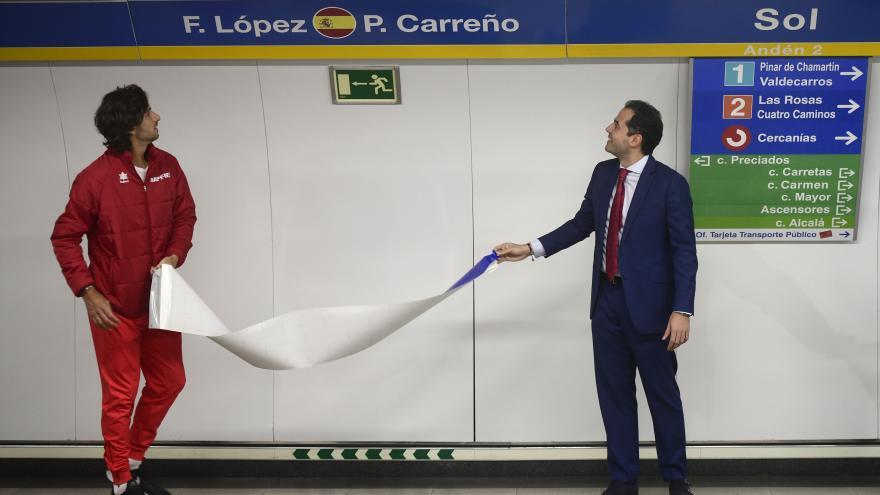 El vicepresidente y consejero de Deportes, Ignacio Aguado, ha presentado la nueva campaña de apoyo al torneo
