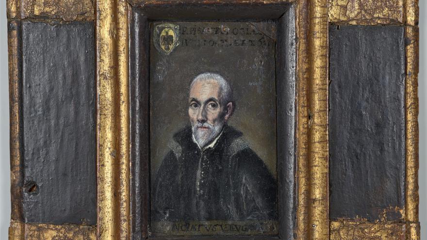 Retrato de Francisco de Pisa, obra de El Greco