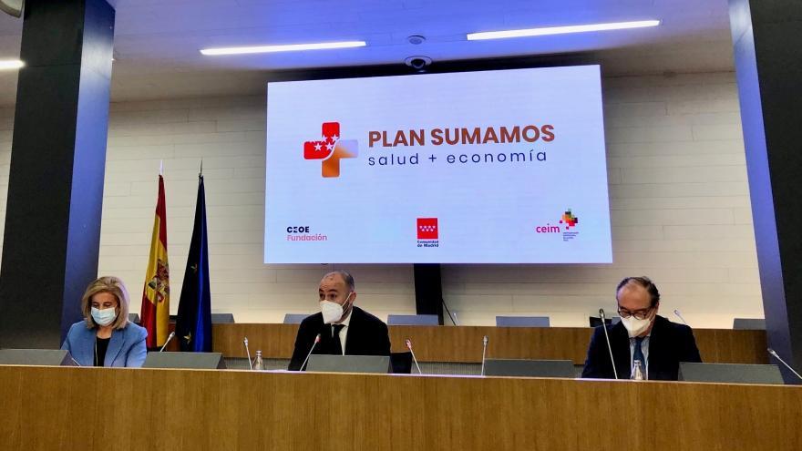 La Comunidad y la Fundación CEOE trabajarán conjuntamente para preservar la salud y la economía