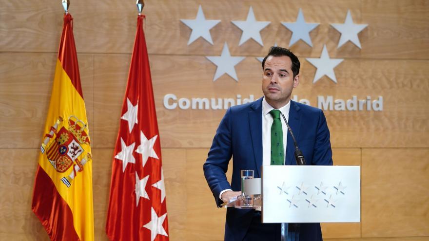 Ignacio Aguado tras Consejo de Gobierno