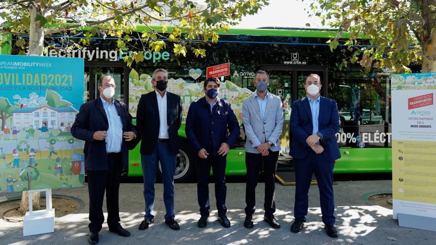 La Comunidad de Madrid se une a la Semana Europea de la Movilidad en su apuesta por la innovación y sostenibilidad en el transporte público