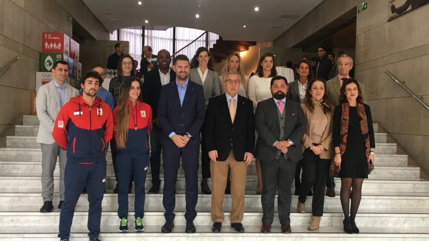 Iniciativa del Comité Olímpico Español con comunidades autónomas