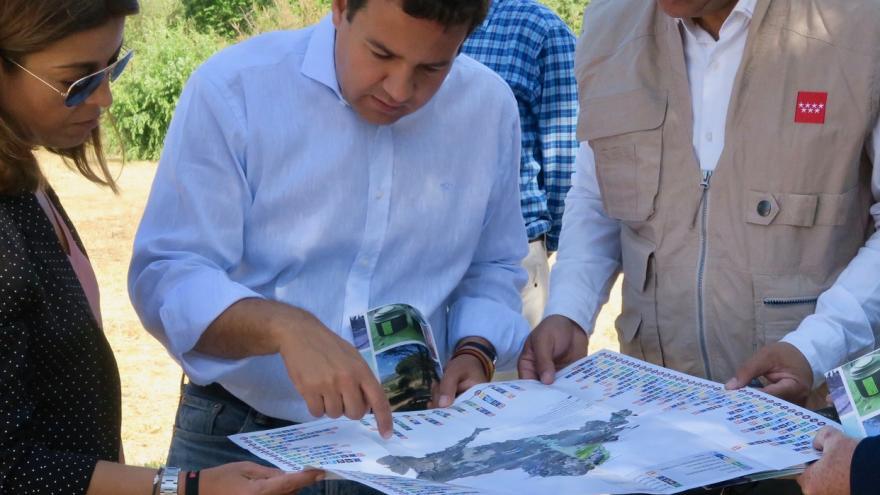 Carlos Izquierdo en el Área Recreativa del Puente de Retamar, en el Parque Regional del Curso Medio del río Guadarrama