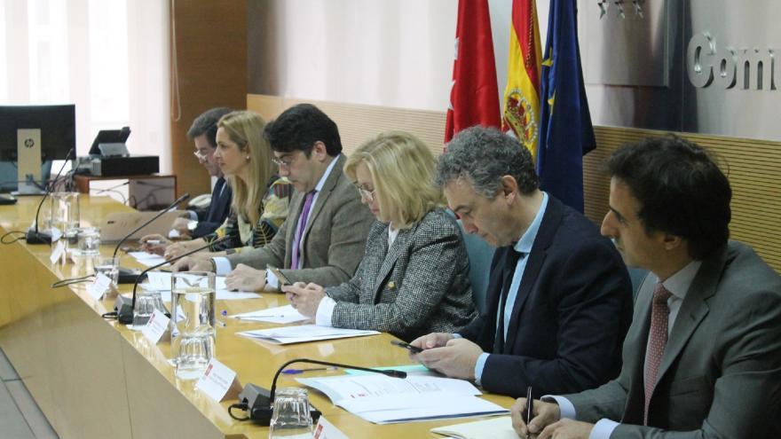 David Pérez se reúne con la Junta Directiva de la Federación de Municipios de Madrid