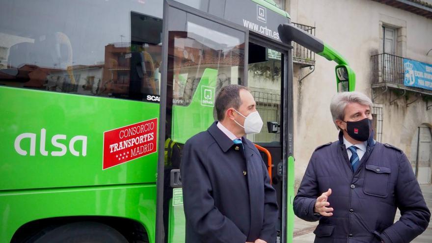 La Comunidad refuerza la oferta de transporte público en autobús en la Sierra Oeste