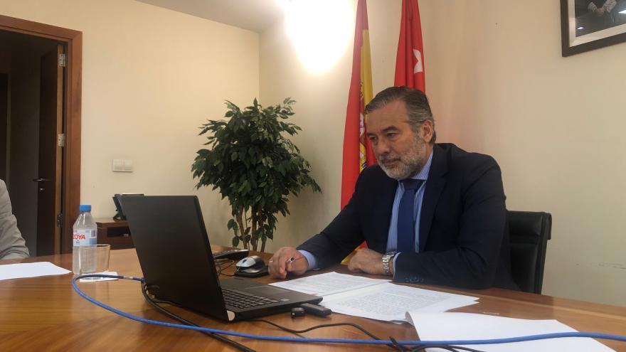 Enrique López ha participado en la reunión telemática del Observatorio Regional de la Violencia de Género