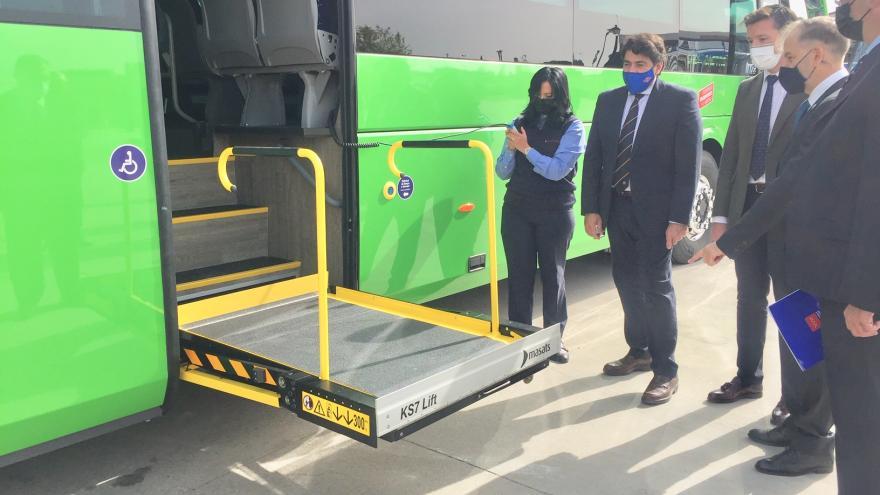 La Comunidad continúa con la renovación de autobuses interurbanos más ecológicos y sostenibles