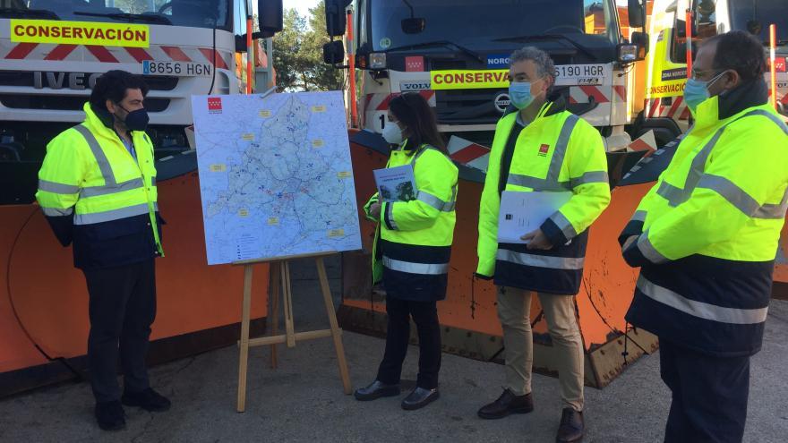 La Comunidad de Madrid mantendrá operativa la  Campaña de Vialidad Invernal hasta el 30 de abril
