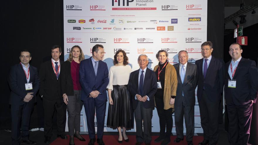 Isabel Díaz Ayuso durante la inauguración del III Congreso Europeo de Derecho y Gastronomía
