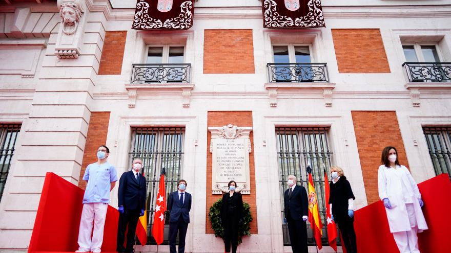 Isabel Díaz Ayuso en el Día de la Comunidad de Madrid