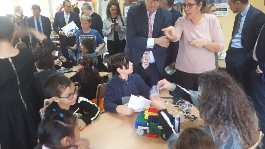 Enrique Ossorio participa en el evento Cervanbot