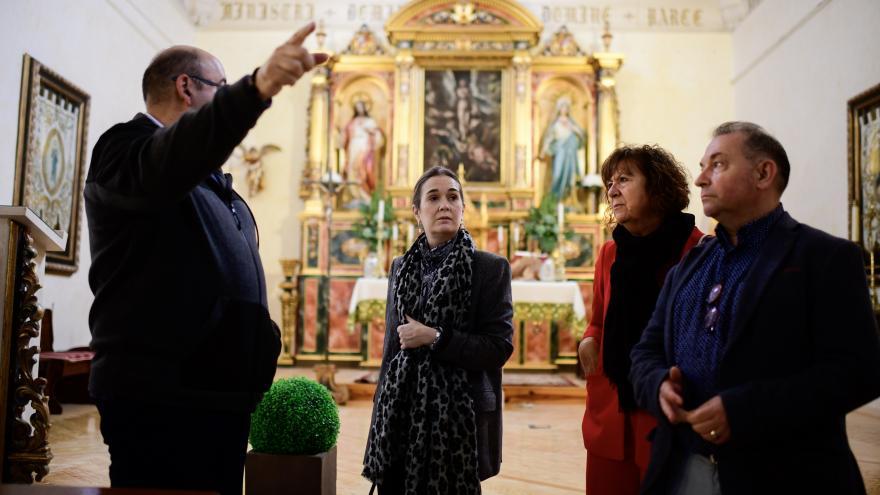 Marta Rivera visita Titulcia dentro de su compromiso 179