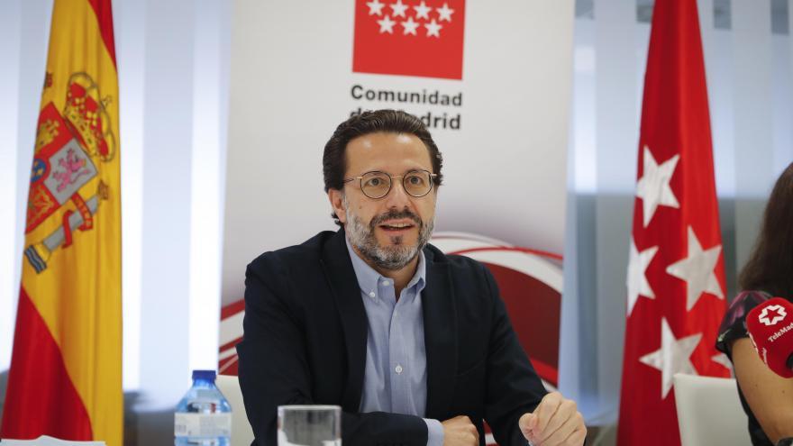 Javier Fernández- Lasquetty durante el acto