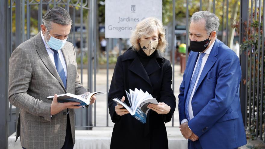Ossorio y López junto a Ana Iríbar