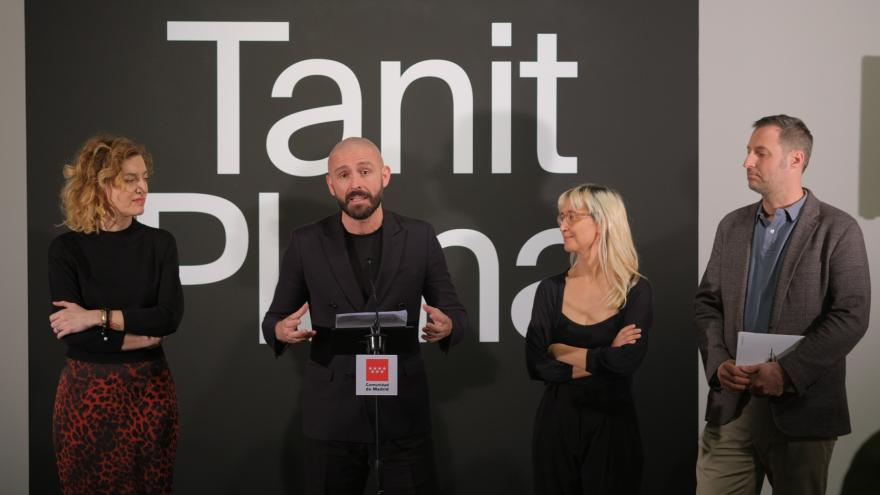 Jaime de los Santos inaugura la exposición 'Es lo que es' a Tanit Plana