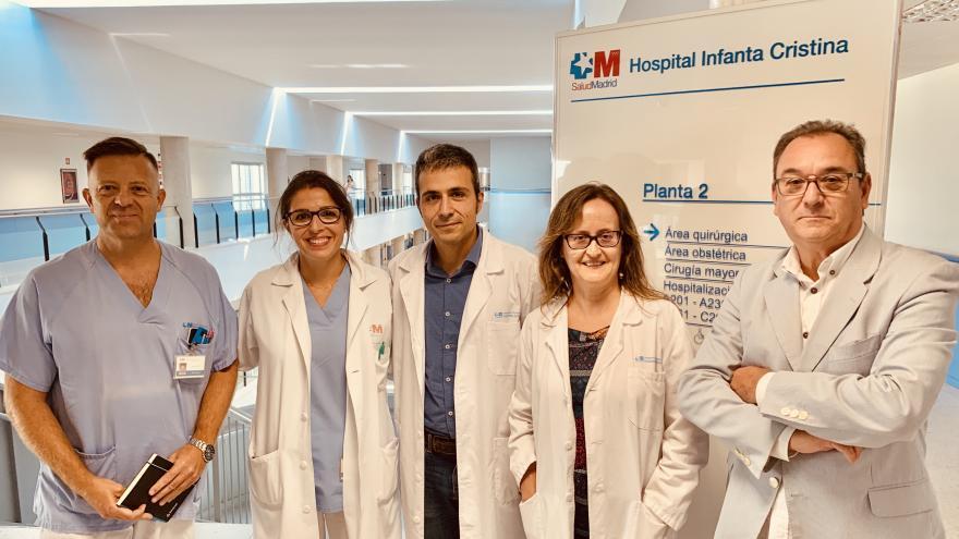 MediCamina en el Hospital Infanta Cristina