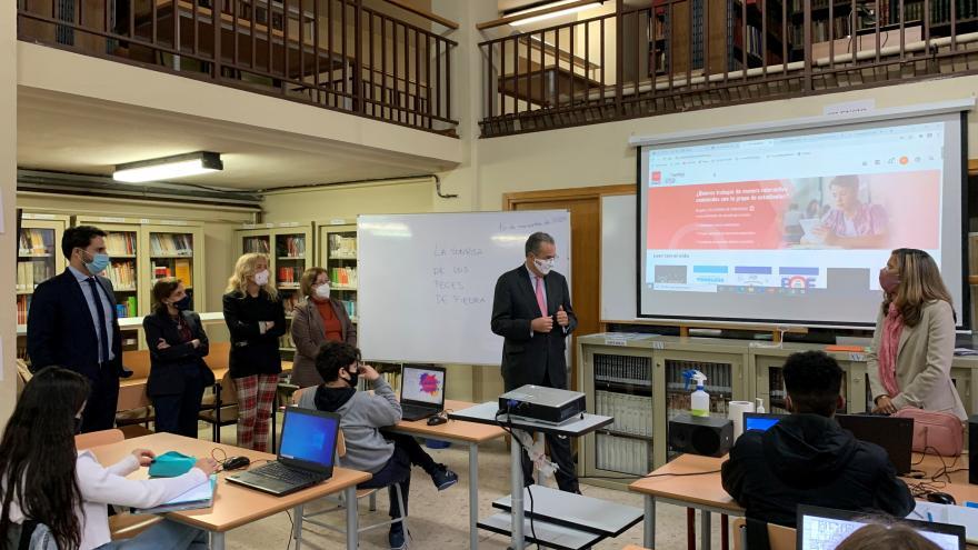 Ossorio presenta la nueva biblioteca virtual