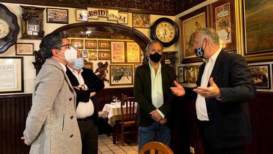 Ossorio restaurantes centenarios