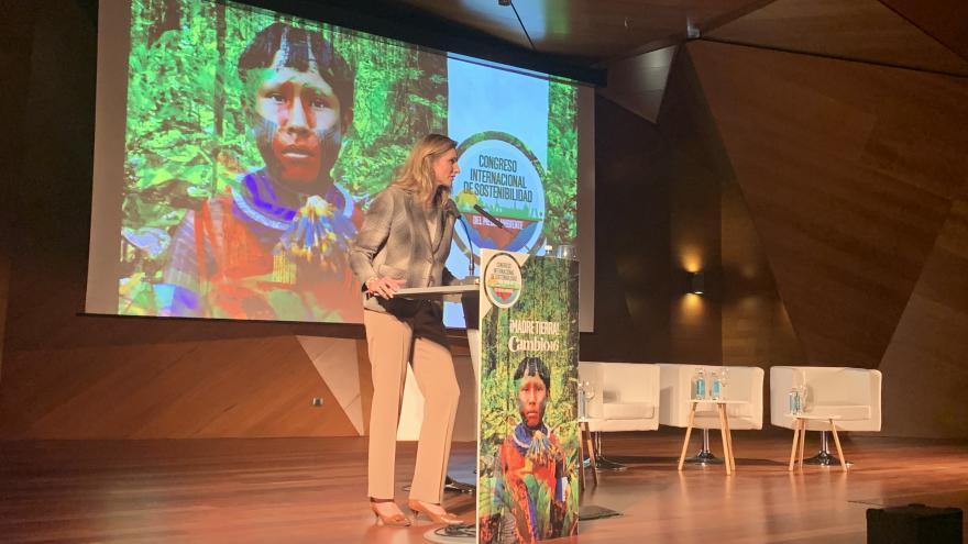 Paloma Martín participa en el Congreso Internacional de Sostenibilidad Medioambiental