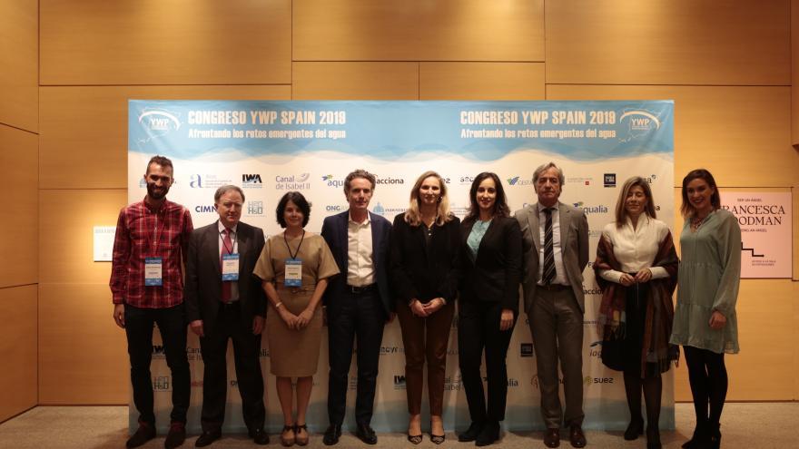 Paloma Martín participa en la inauguración del Congreso Young Water Professionals