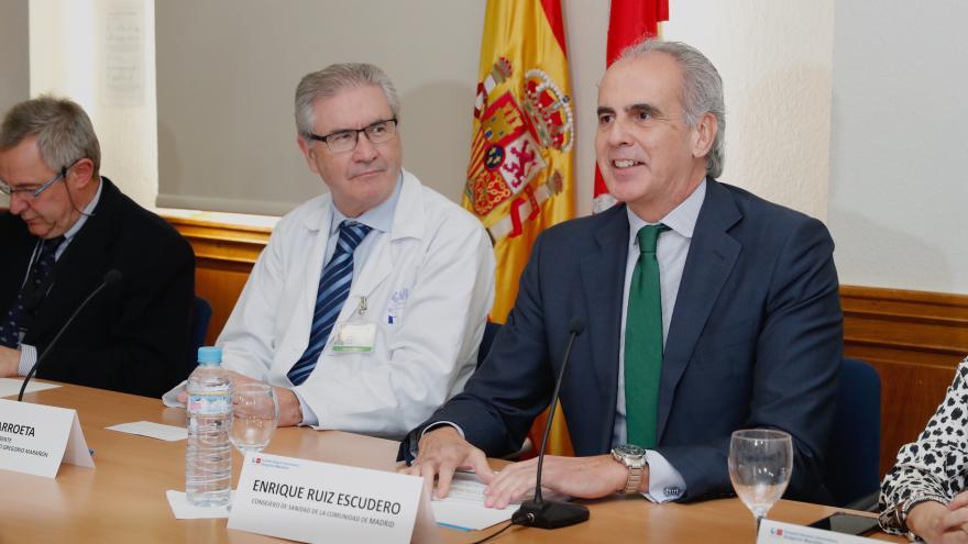 , Enrique Ruiz Escudero, ha hecho balance del Plan de Gestión de las Terapias CAR-T