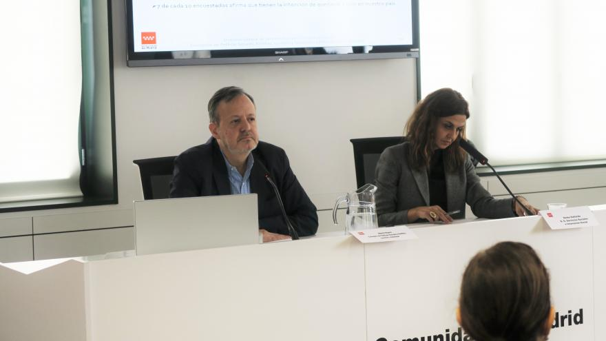 El consejero de Políticas Sociales, Alberto Reyero, ha presentado la Encuesta Regional de Inmigración 2019