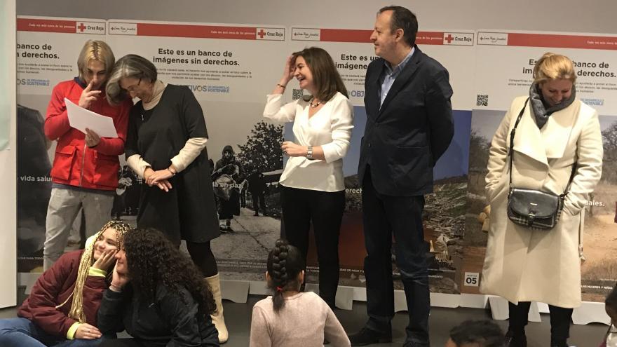 Alberto Reyero visita el Proyecto Pineo 2