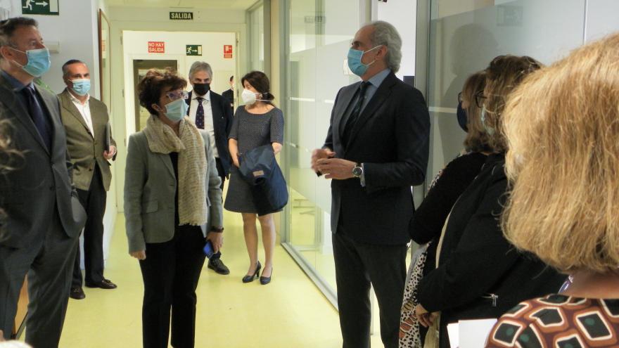 El consejero de Sanidad ha visitado la Gerencia de Atención Primaria así como instalaciones de la Dirección General de Salud Pública