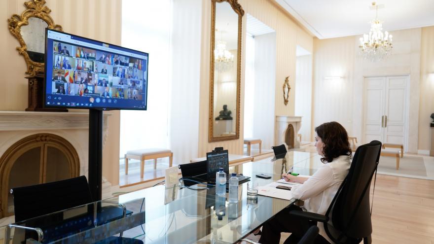 Videoconferencia Díaz Ayuso