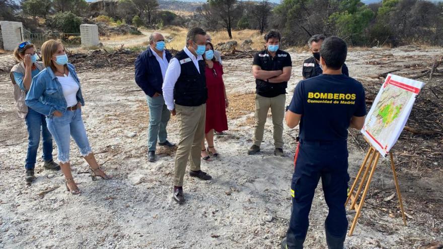 Ponemos en común el protocolo de coordinación de gestión de incendios con los municipios afectados por el fuego de Almorox